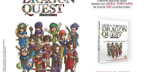 L'artbook Dragon Quest annoncé chez Mana Books