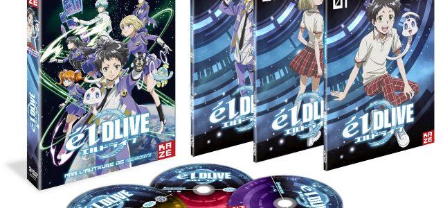 elDLIVE en DVD et Blu-ray chez Kazé