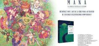 Un artbook de la saga Mana chez Mana Books