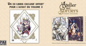 Edition collector pour L'Atelier des Sorciers T3