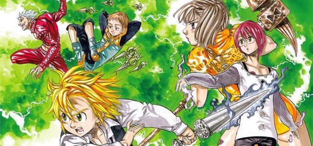Fin annoncée pour le manga Seven Deadly Sins