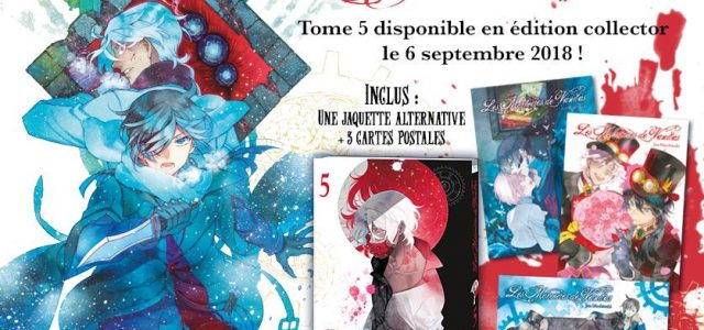 Edition collector pour Les Mémoires de Vanitas T5