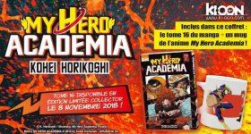 Nouveau collector pour My Hero Academia