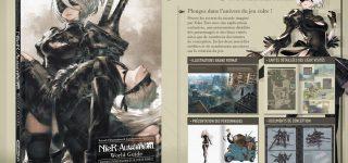 L'artbook de NieR: Automata chez Kurokawa