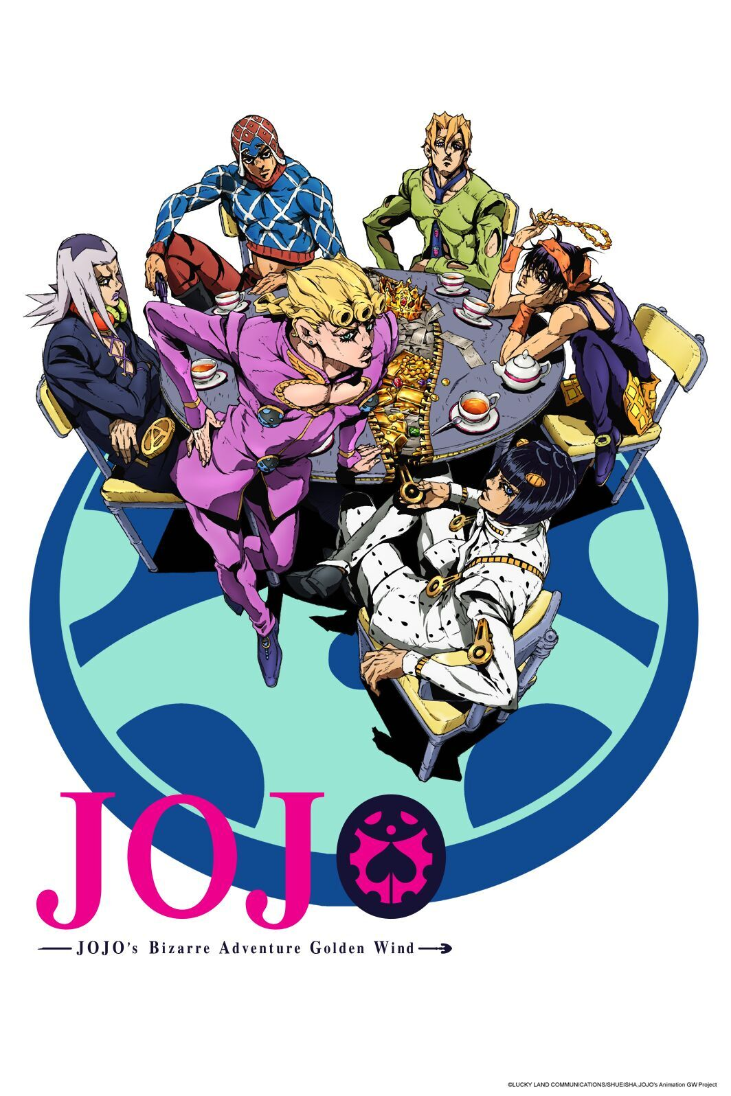JoJo's Bizarre Adventure: Golden Wind - Anime