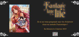 A Fantasy Lazy Life chez Delcourt/Tonkam