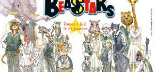 Le manga Beastars chez Ki-oon