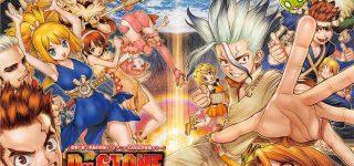 Le manga Dr. Stone adapté en anime