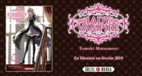 Lady Vampire s'installe chez Soleil Manga