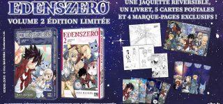 Edition limitée pour Edens Zero T2