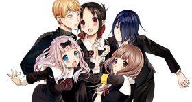 Le manga Kaguya-sama wa Kokurasetai adapté en anime