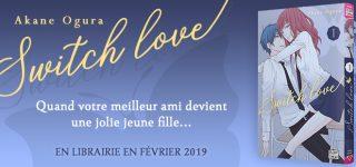 Switch Love chez Delcourt/Tonkam