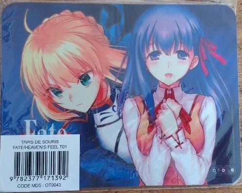 Tapis de souris Fate/Stay Night - Heaven's Feel