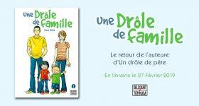 Une Drôle de famille annoncé chez Delcourt/Tonkam