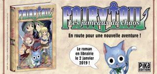 Nouveau roman Fairy Tail chez Pika