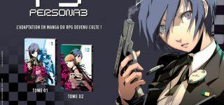 Le manga Persona 3 annoncé chez Mana Books