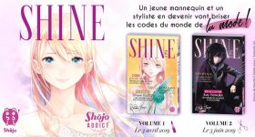 Le manga Shine rejoint la catalogue nobi nobi!