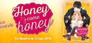 Honey Come Honey chez Delcourt/Tonkam
