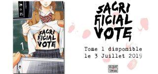 Sacrificial Vote annoncé chez Delcourt / Tonkam