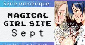 Magical Girl Site Sept en numérique chez Akata