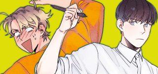 Nouveau webtoon BL sur Delitoon