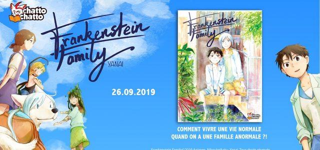 Le manga Frankenstein Family annoncé chez Chattochatto