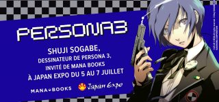 Shuji Sogabe invité Mana Books à Japan Expo