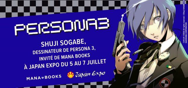 Shuji Sogabe invité Mana Books à Japan Expo