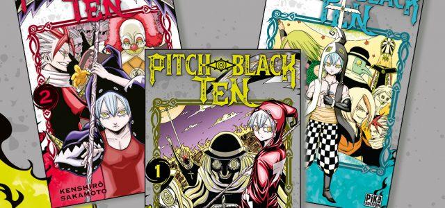 Pitch-Black Ten à paraître aux éditions Pika