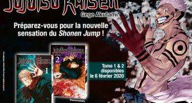 Jujutsu Kaisen débarque aux éditions Ki-oon