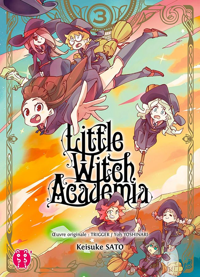 Little Witch Academia T3