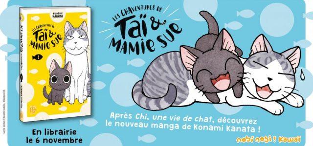 Nouvelle histoire de chats par Konami Kanata