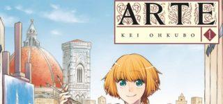 Le manga Arte adapté en anime