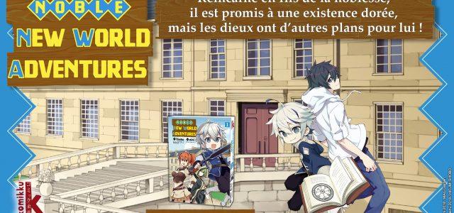 Noble New World Adventures à paraître chez Komikku