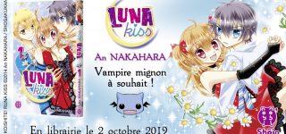 Le shôjo Luna Kiss à paraitre chez nobi nobi!