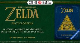 The Legend of Zelda Encyclopedia chez Soleil