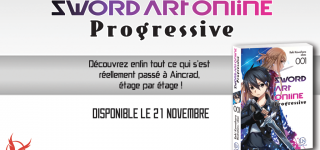 Le light novel Sword Art Online Progressive à venir chez Ofelbe