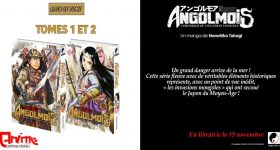 Le manga Angolmois annoncé aux éditions Meian