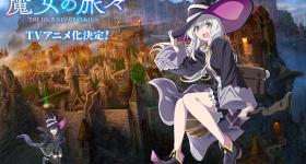 Le roman Majo no Tabitabi adapté en anime