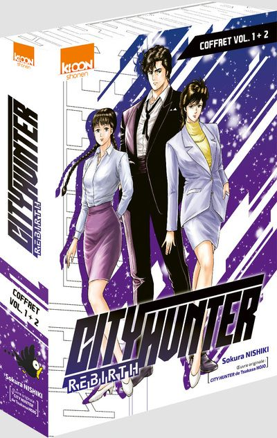 City Hunter Rebirth - Coffret T1-2