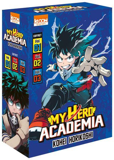 My Hero Academia - Coffret T1-3