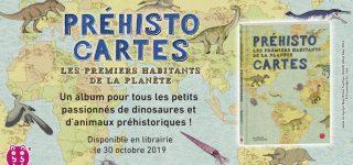 Découvrez la préhistoire avec l'atlas des éditions nobi nobi!
