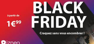 Opération Black Friday sur la plateforme Izneo