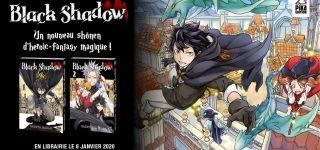 Le manga Black Shadow à paraître chez Pika