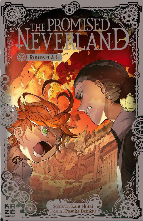 The Promised Neverland - Coffret T4-6