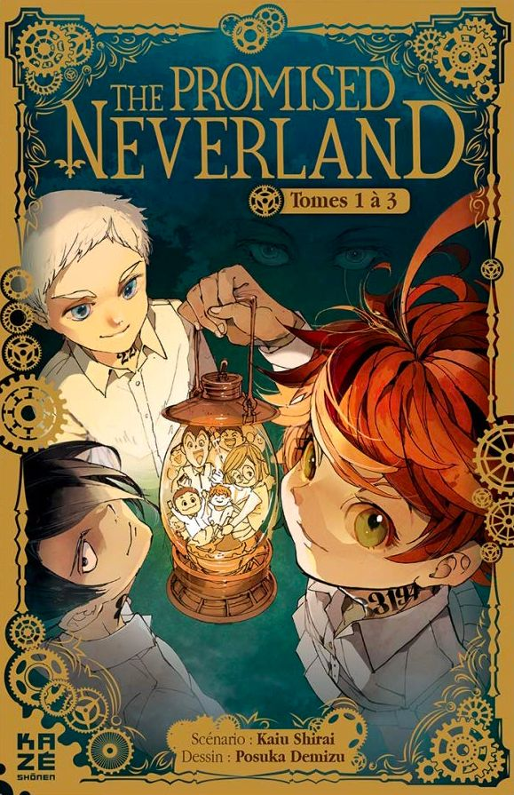 The Promised Neverland - Coffret T1-3