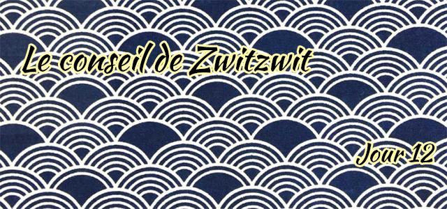 Jour 12 : Le conseil de Zwitzwit