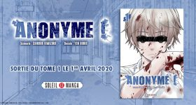 Le thriller Anonyme chez Soleil Manga