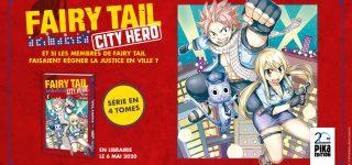 Pika dévoile un nouveau spin-off de Fairy Tail
