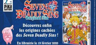 Un spin-off de Seven Deadly Sins chez Pika